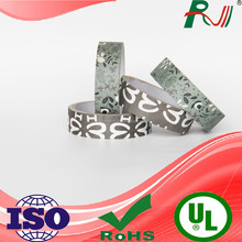 Waterproof printing adhesive reinforced fabric edging tape