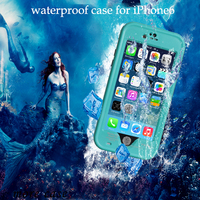Waterproof Case Diving Underwater Watertight Cover For IPhone 6 6s Hard PC+TPU Hybrid Cover