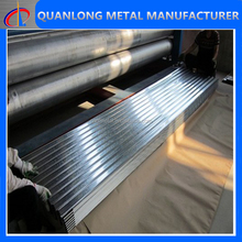 hot dip galvanized steel curve corrugated roof panel