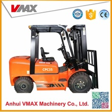 VMAX 3.5Ton Diesel with chinese top brand engine and 500mm load center