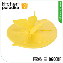 FDA LFGB DGCCRF approved silicone cup cover/mug lid
