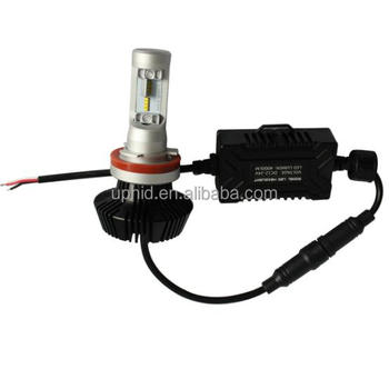 Top sell G7 fanless bsae & light angle adjustable Auto led headlight 9004 4000lm per light comply with E4 standard design