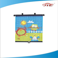 Auto car roll up window sun shade for side window sun protection