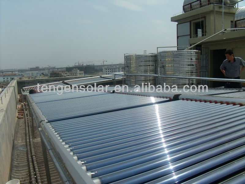 Guangzhou Solar collector with vacuum tubes solar system for swimming pool system