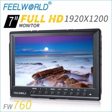ultra thin lcd monitor portable hd with av video security monitors