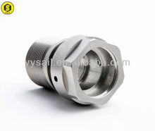 CNC machining car precision part with chromated plated