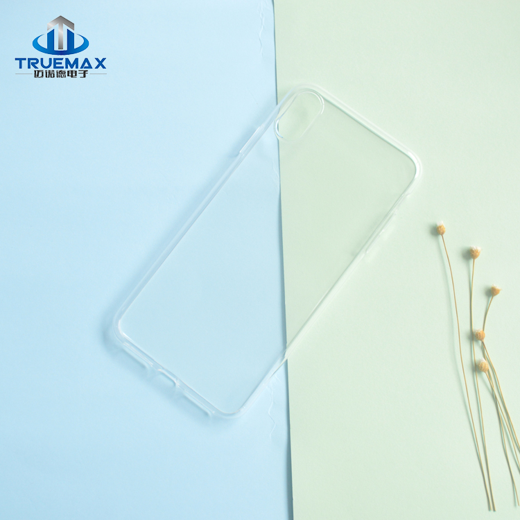 New Arrival Clear Cover for iPhone XS Max Transparent TPU Case