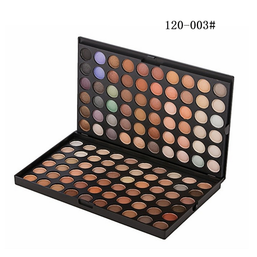 makeup warm palette 120 color eye shadow