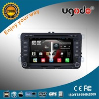Shenzhen ugode wholesale android 7 inch 2 din car DVD Player for Volkswagen VW POLO with gps 3g wifi