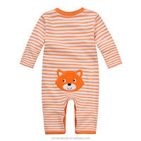 Wholesale Baby romper lovely cotton jumpsuit Kids clothes newborn conjoined creeper Gentleman Baby Costume dress outfit