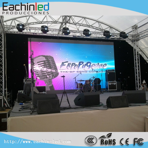 High Transparency P8 SMD LED Display, Backdrop Stage LED Screen