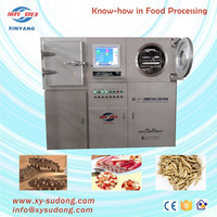 Test freeze dryer machine for sale/experimental freeze dryer for food, seafood, fruit, vegetables, meat.