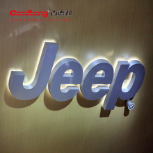 Fashion Acrylic Car Logo Brand and Their Name Sign