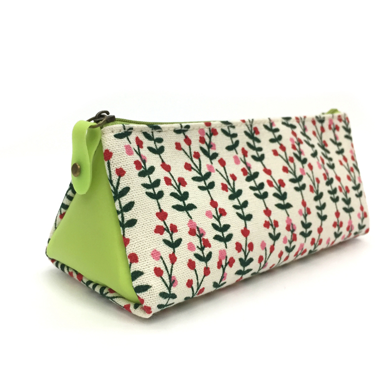 Custom Flower Printed Toddler Pencil Case for Teenagers
