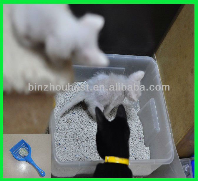 1-8mm OEM cat litter,bentonite cat litter, pet product