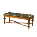 Wood furniture bed end bench bed end stool