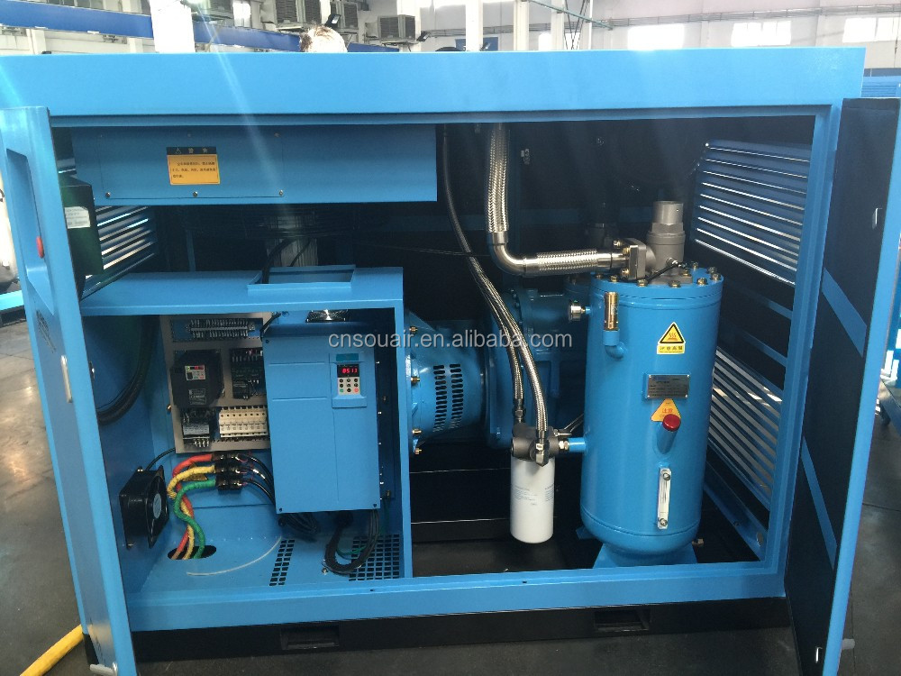 17-25bar series two stage medium-pressure air compressor 2016 hot sale in China
