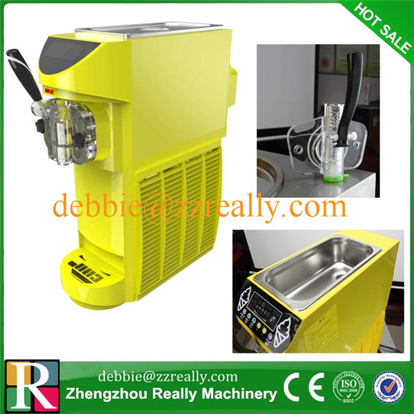 small ice cream machine frozen yogurt machine sorbet machine Soft Serve Small home and commercial use