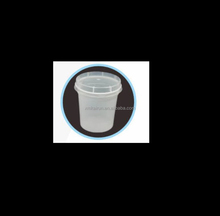 200ml/ 5g plastic pudding jelly cup 7oz with lid
