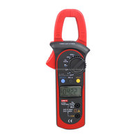 1x UNI-T UT204 LCD Digital Clamp Multimeters UT-204 True RMS 600V/400A 10Hz~1MHz Digital Clamp Multimeter