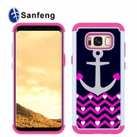 PU Leather Combo Case For Samsung
