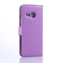 M8M003 Factory Supply Magnet Flip Mobile Phone Leather Case for HTC One M8 mini