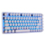 Retro cherry switch typewriter wired gaming mechanical keyboard with led light GMTK-082