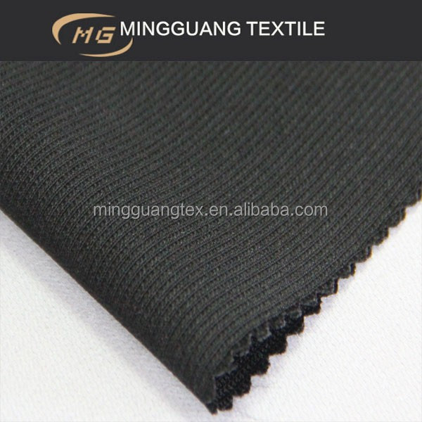 black fabric for knitting patterns sweater coat suit men dress sample