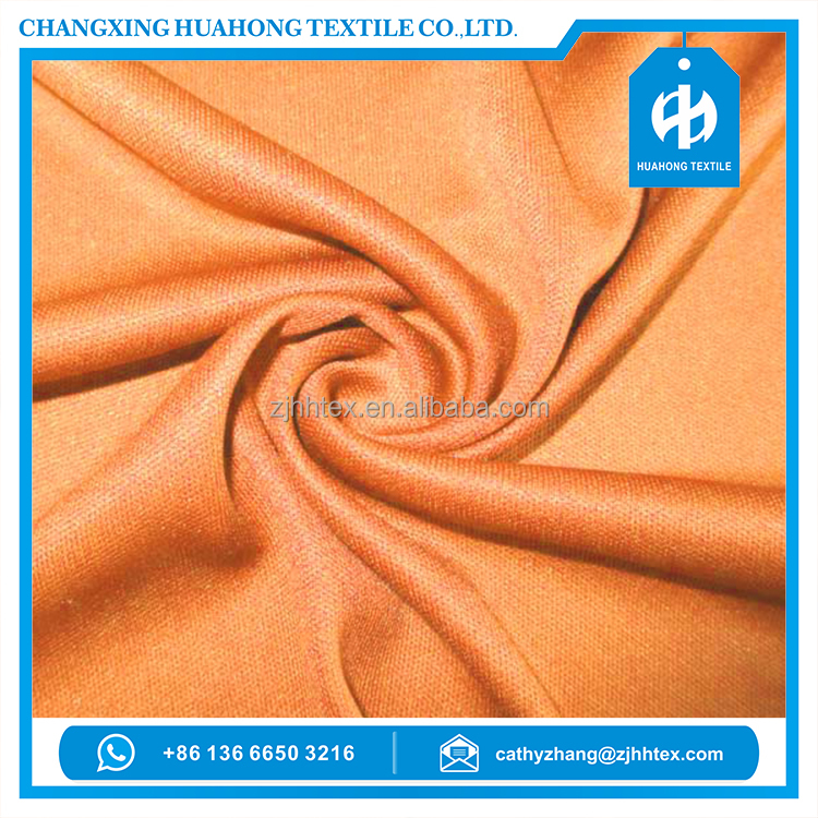 100% Polyester interlock circular knitted fabric for garments