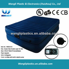 2 Layer Double Size Air Bed Rubber Cotton