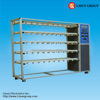 SY2036 LED Lamp Aging Test Line Rack to test the service life of lights