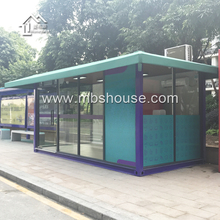 Factory supply prefabricated shipping container shop