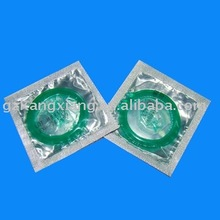 green color condom