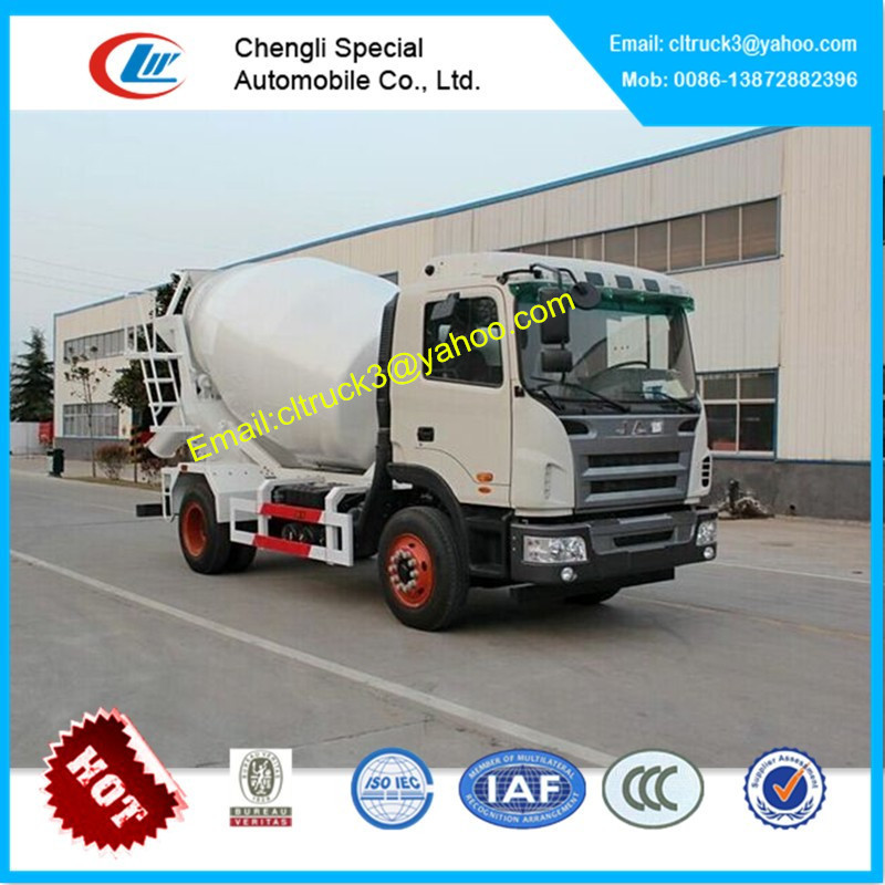 JAC 4-6cbm cement mixer truck for sale,feed mixer trucks for sale