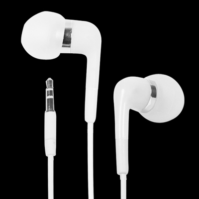 Stereo Earphone, 3.5mm Plug, Cable Length: 1.2m (White)