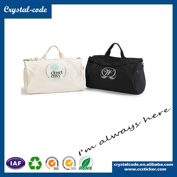 Favorable Price Natural Canvas Shoulder Duffle Bag