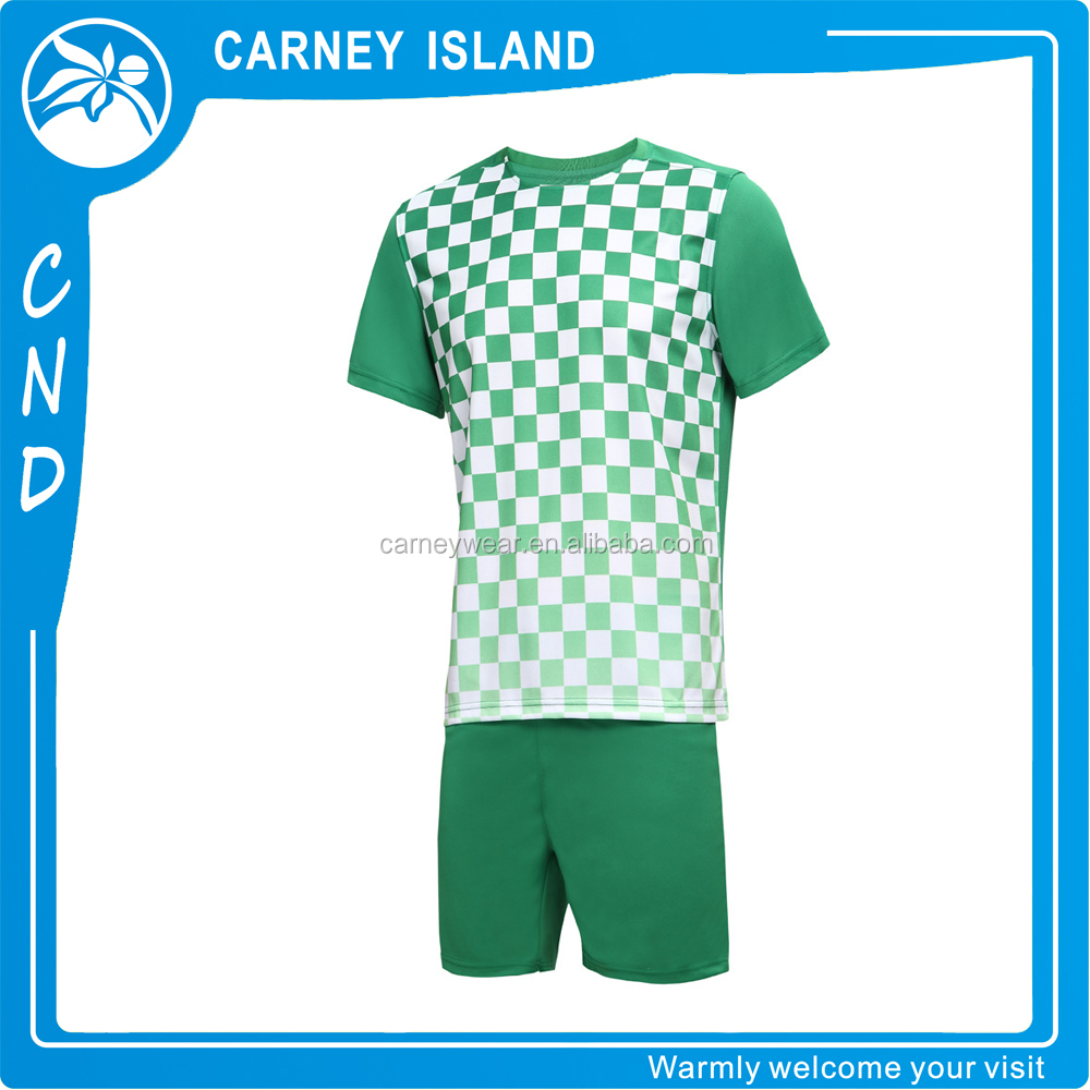 Custom logo team number New thai quality wholesale men custom soccer jersey