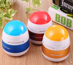 A12 Super Bass Speaker Mini Portable Bluetooth Built-in FM Rechargeable Battery Working for MP3 / iPad / Samsung / Tablet PC