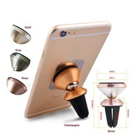 air vent silicone magnetic car mobile phone holder factory wholesale magnet phone holder