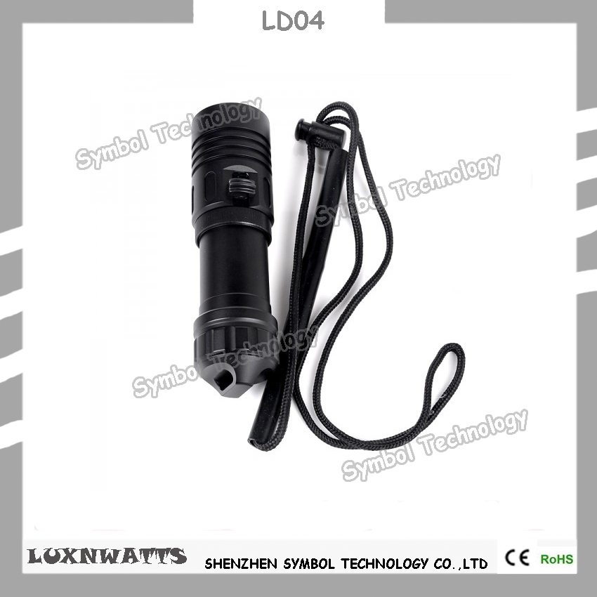 12000lumens most powerful underwater strong light <strong>led</strong> diving flashlight