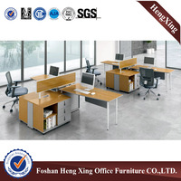 2 person office desk modern office partition workstation (HX-5N042)