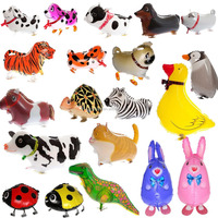 Yiwu Factory Grid Cartoon Walking Animals
