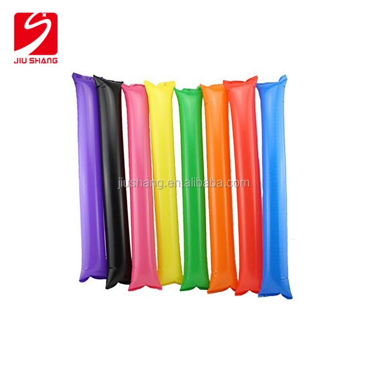 Multicolor Boom Noisemakers Cheer Spirit For Sale Inflatable Noisemaker Sticks