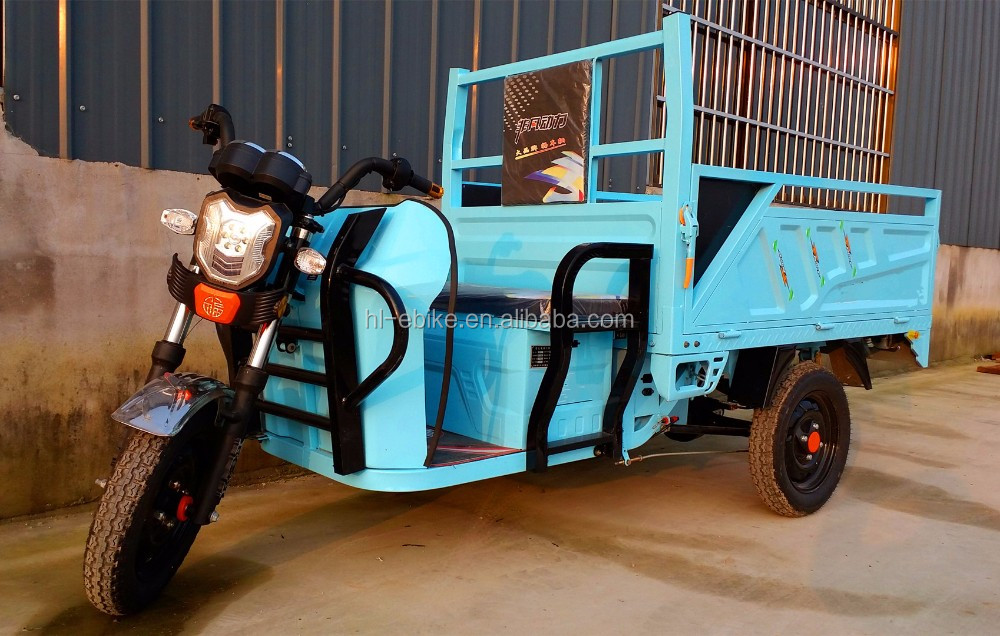 CE and ICAT approved 2016 newest pretty model of electric cargo tricycles/vehicles/motorcycles/cyclomotor 11000014