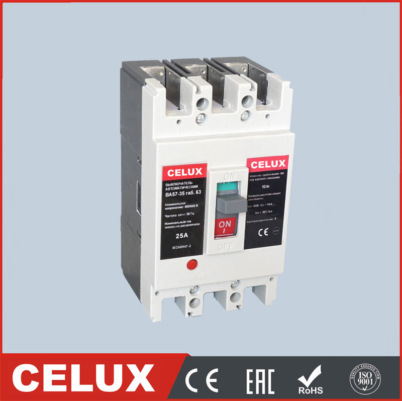 CTM1 3p 4p electric moulded case circuit breaker mccb