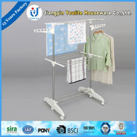 multi-layer pvc portable display rack