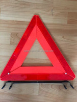 car accessory, red safety reflective warning triangle use for emergency car tool
