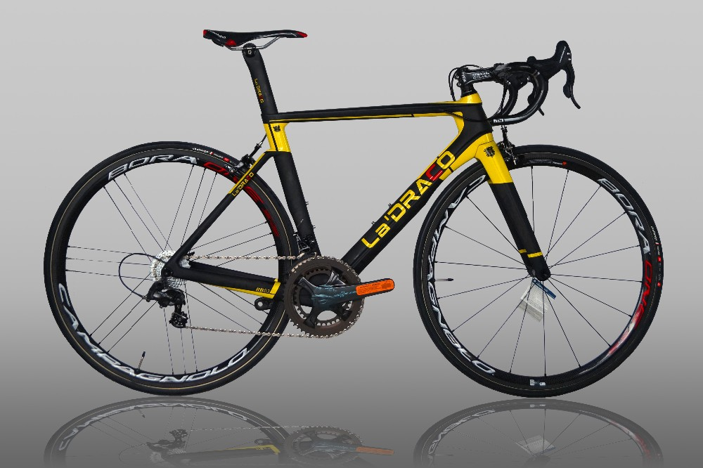 Czech team color carbon road bicycle for sale 7.5KG cheap road bike