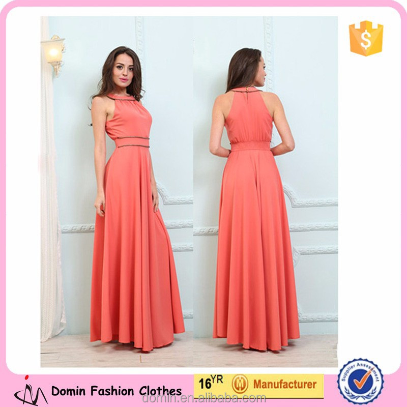 New Design Fashion Maxi Ladies Dress 2015