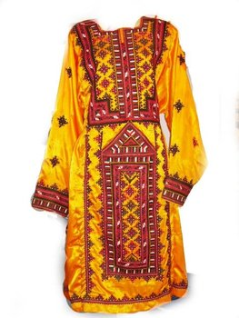 Embroidered Balochi Dress